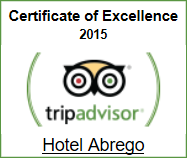 Hotel Abrego Certificate of Excellence